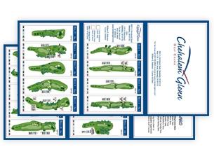 Chehalem Glenn Yardage Card